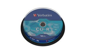 CD-R VERBATIM CAKEBOX 10PCS